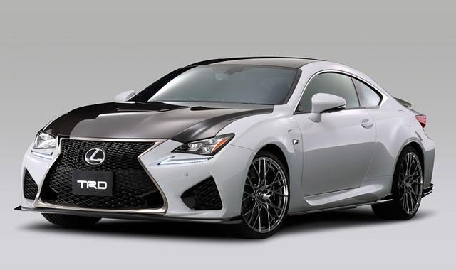 Lexus RC F z pakietem tuningowym za niemal 130 000 zł