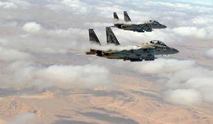 Potęga sił powietrznych Izraela
