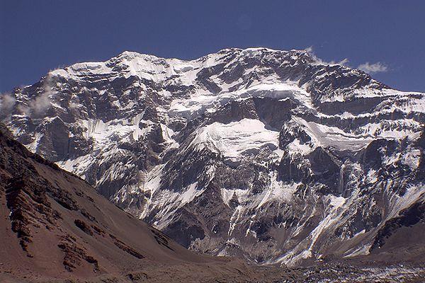 Aconcagua, najwyższy szczyt Andów i Ameryki Południowej