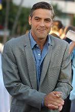George Clooney i prezydent Boliwii