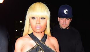 Blac Chyna i Rob Kardashian zaszaleli w nocnym klubie