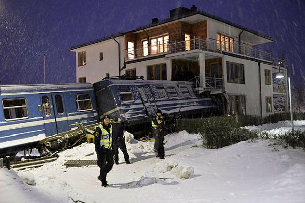W budynku znajdowało się 5 osób - nikt nie został ranny.