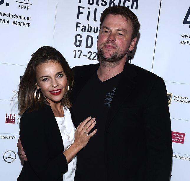 Edyta Herbuś jest bardzo zakochana w swoim partnerze, Piotrze Bukowieckim