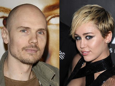 Billy Corgan czeka na telefon od Miley Cyrus