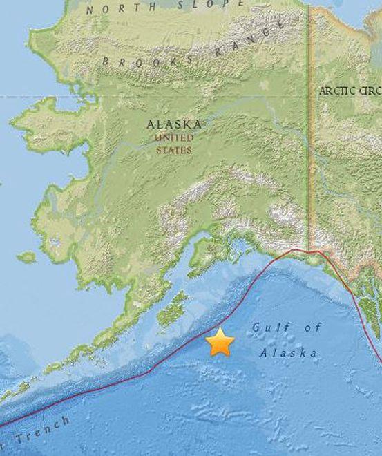 Silne trzęsienie ziemi na Alasce. Ostrzeżenie przed tsunami