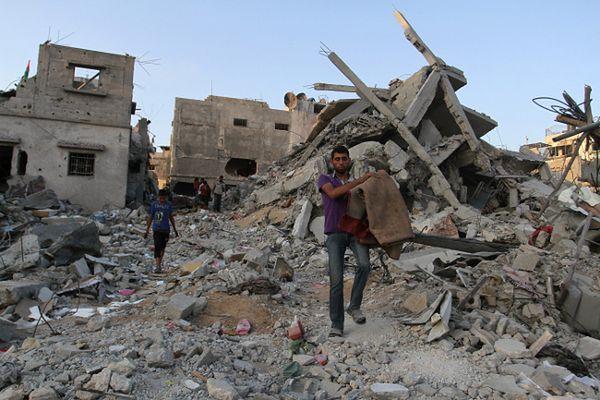 W Strefie Gazy zginęło już ponad 2 tys. Palestyńczyków