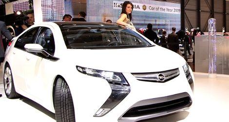 Ampera - elektryzujący Opel