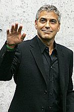 Osamotniony George Clooney