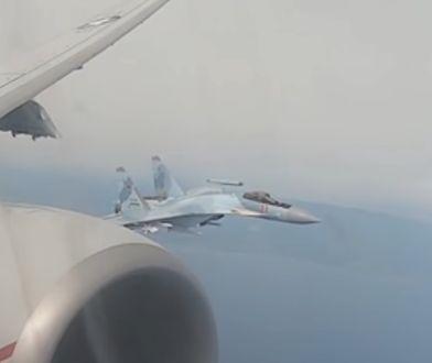 Rosyjskie myśliwce przechwyciły amerykański samolot P-8A