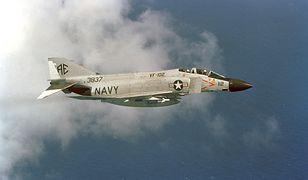 Samolot F-4 Phantom - maszyny tego typu współpracowały z systemem SAGE