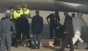 Makabryczne odkrycie na lotnisku w Maroko