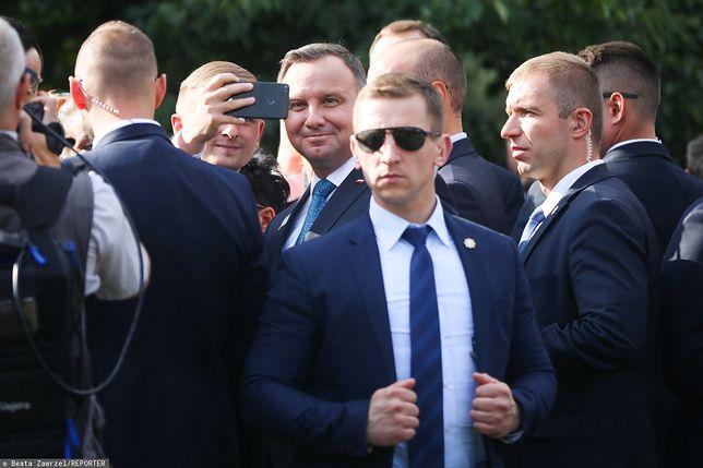 Wybory 2020. Prezydent Andrzej Duda na spotkaniu z mieszkańcami Chorzowa (zdj. arch.)
