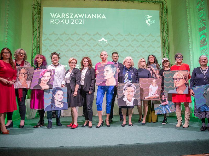 Warszawa. Nominacje do tytułu Warszawianki Roku 2021
