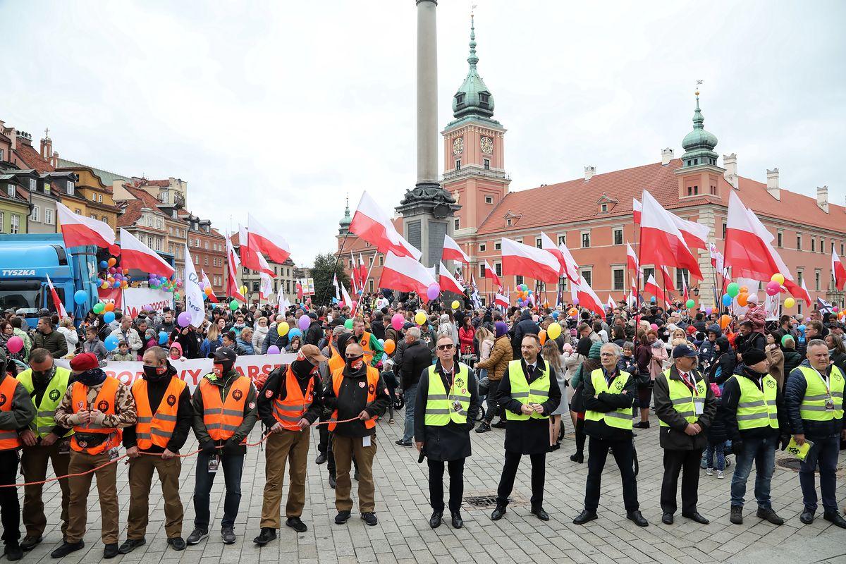 Narodowy Marsz Życia i Rodziny. Andrzej Duda spotkał się z organizatorami