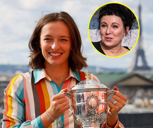 Olga Tokarczuk pogratulowała Idze Świątek.
