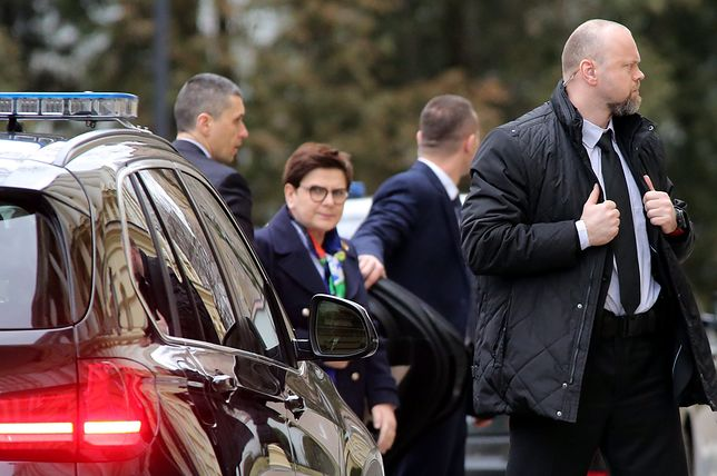 BOR ochrania premier Beatę Szydło