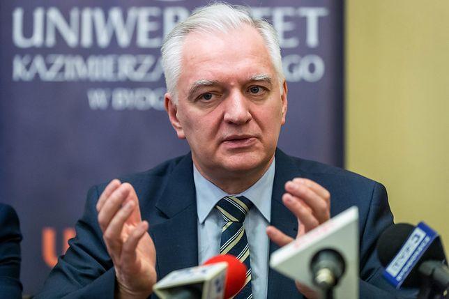 Jarosław Gowin chce dojść do porozumienia z Izraelem