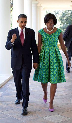 Pierwsza dama Ameryki ikoną mody - zdjęcia