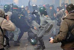 Wielka zadyma w Rzymie - anarchiści demolują miasto