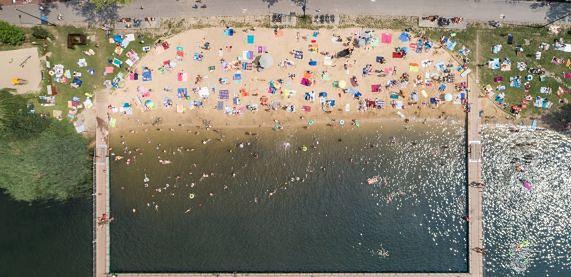 Sosnowiec. Kąpielisko na Stawikach rusza już 11 czerwca.