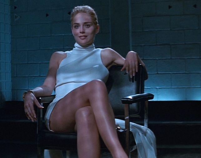 """Sharon Stone zagrała w """"Nagim instynkcie"""" mając 34 lata"""