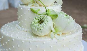 Tort weselny nie nadawał się do jedzenia