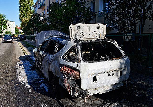 Seria podpaleń w Gdańsku - zdjęcia