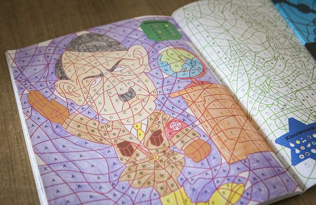 Kolorowanka dla dzieci z Hitlerem. Zszokowani rodzice nie mogli w to uwierzyć