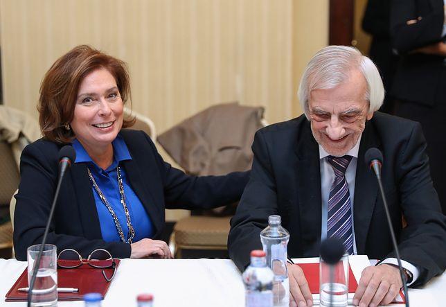 Małgorzata Kidawa-Błońska i Ryszard Terlecki.