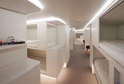 Nowa koncepcja Airbusa. Przerobi samoloty cargo na sypialnie