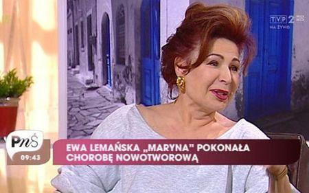 Ewa Lemańska po latach