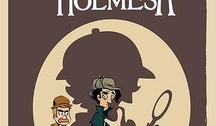Komiksy paragrafowe Cztery śledztwa Sherlocka Holmesa