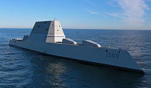 Najdroższy, najnowocześniejszy, niewidzialny okręt USA w końcu popłynął