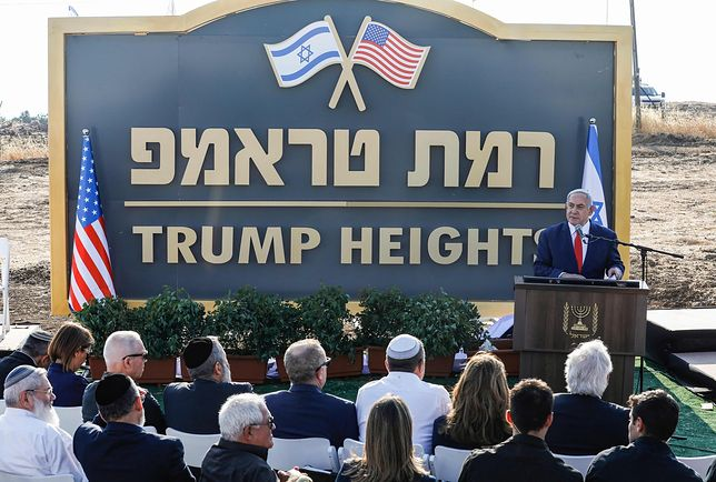 Beniamin Netanjahu ogłosił utworzenie osiedla Wzgórza Trumpa