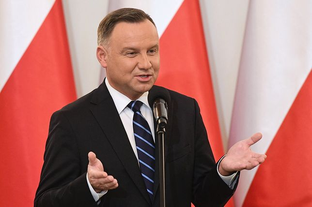 Andrzej Duda i jego postanowienie noworoczne