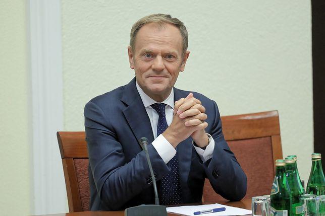 Donald Tusk stawił się przed komisją ds. VAT
