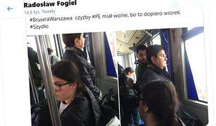 Wicerzecznik PiS zareagował na dyskusję o zdjęciu Beaty Szydło w autobusie