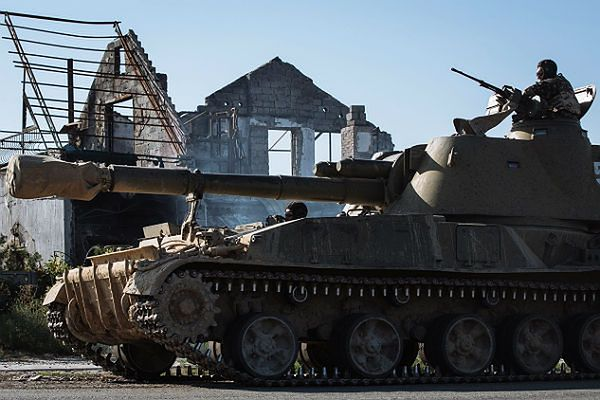 Rosyjscy żołnierze prowadzą tzw. rozpoznanie walką, próbując ustalić, gdzie znajdują się pozycje ukraińskich sił