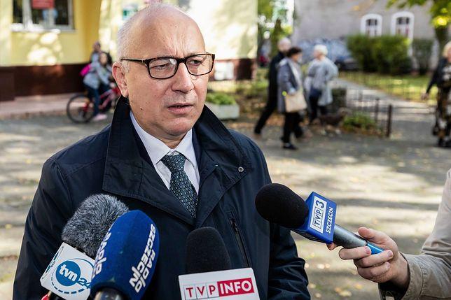 Wyniki wyborów 2019. Joachim Brudziński: zakładamy, że PiS ma wystarczającą liczbę szabel