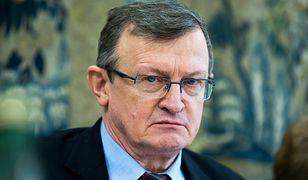 Tadeusz Cymański może mieć kłopoty. Do prokuratury wpłynęło zawiadomienie ws. klapsów