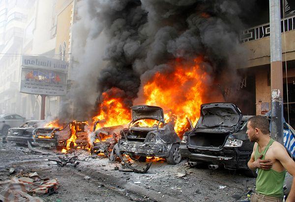 Cztery osoby zginęły w zamachu bombowym na południu Bejrutu