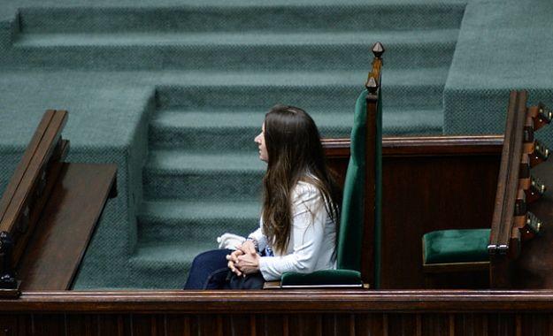 Karolina Elbanowska zajęła fotel prezydenta w sejmie