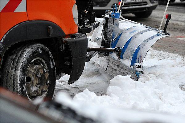Nocne opady śniegu, poranny paraliż Krakowa