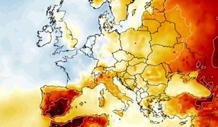 Pogoda. Podmuch gorącego powietrza nad Polską poprzedzi gwałtowne burze (źródło: wxcharts.com)