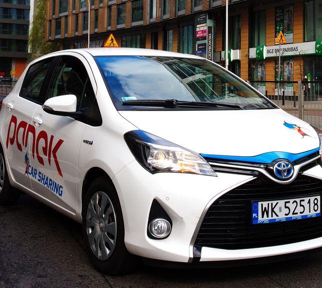 Samochodem używanym w systemie car sharingu będzie można wyjechać poza Warszawę