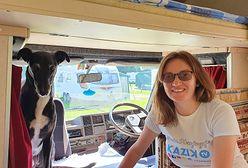 Katarzyna Sulinowska spędza kwarantannę w kamperze. Opowiada, jak wygląda życie na zamkniętym kempingu