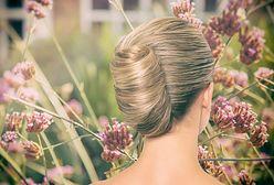 Fryzury na wesele z włosów średniej długości