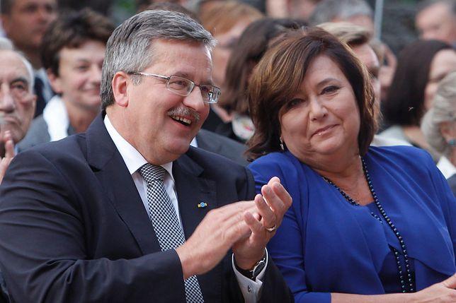 Bronisław Komorowski z żoną Anną