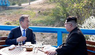 Przywódcy Korei Południowej i Północnej spotkali się na granicy