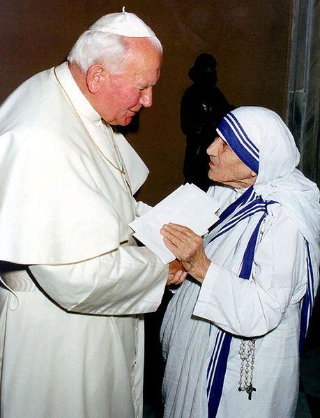 Maj 1997 roku - spotkanie z papieżem Janem Pawłem II w Watykanie
